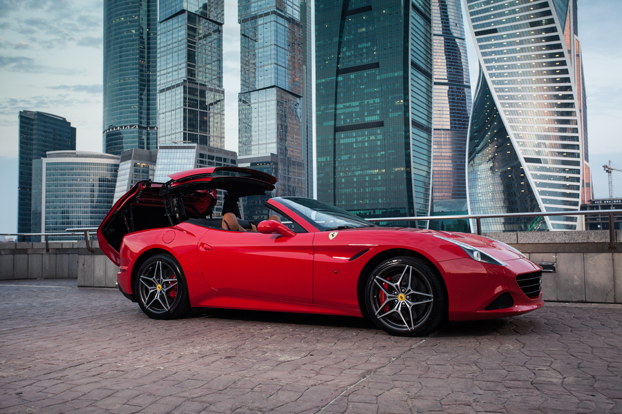 Аренда Ferrari California